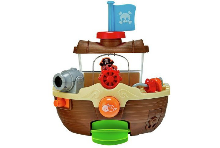 Chad Valley Pirate Ship Bath Toy