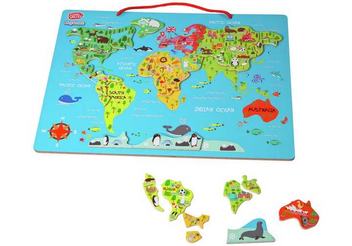 Chad valley playsmart magnetic world map pre school infant pre chad valley playsmart magnetic world map gumiabroncs Choice Image
