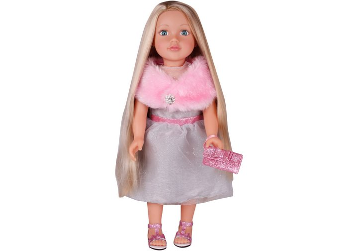 Chad Valley Designafriend Pink Sequin Dress Outfit