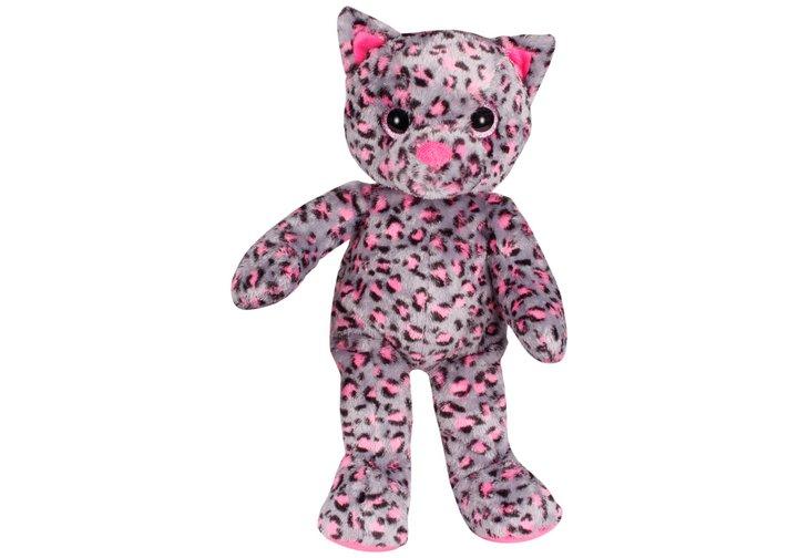 Chad Valley Designabear Sparkle Cat Soft Toy