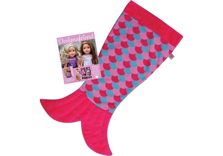 Chad Valley Designafriend Mermaid Blanket Accessory Set