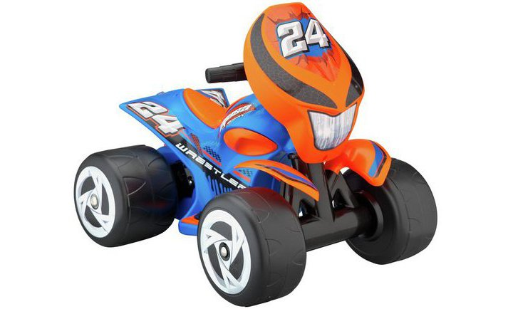 Chad Valley 6V Quad Powered Vehicle - Blue and Orange