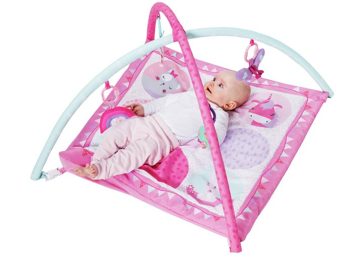 Chad Valley Dreamland Play Gym - Baby Pink