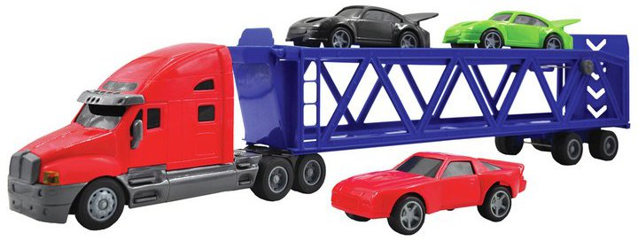 Chad Valley Free Wheel Race Car Carrier Set