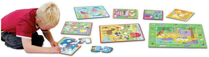 Chad Valley PlaySmart Puzzle Bumper Pack - 15 Pack