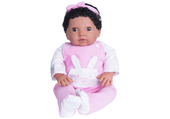 Chad Valley Tiny Treasures Baby with Pink Outfit & Headband