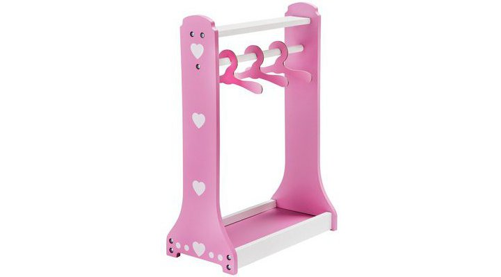 Chad Valley Babies to Love Wooden Dolls Clothes Rail