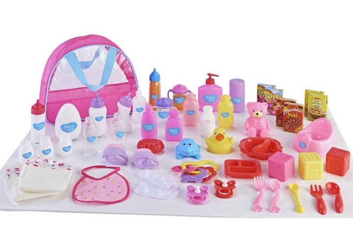 Chad Valley Babies to Love Deluxe Changing Bag Set