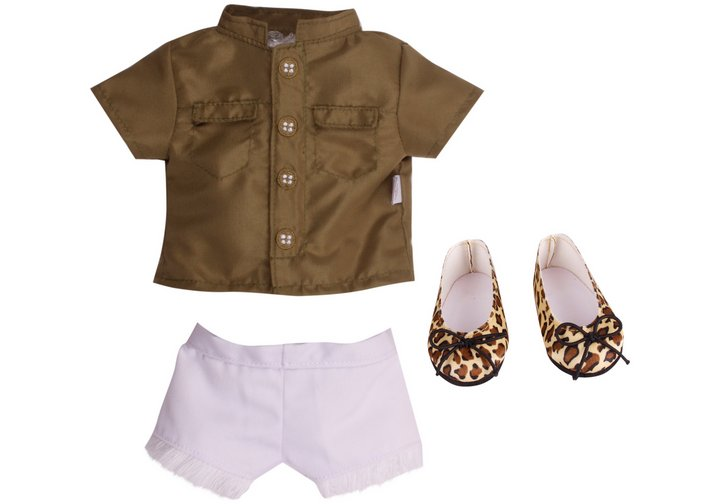 Chad Valley Designafriend Safari Adventure Outfit