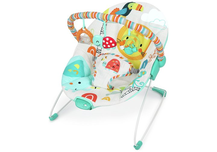 Chad Valley Jungle Friend Deluxe Bouncer