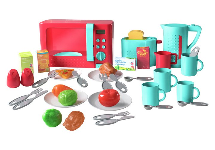 Chad Valley Kitchen Bundle Set with 40 Pieces