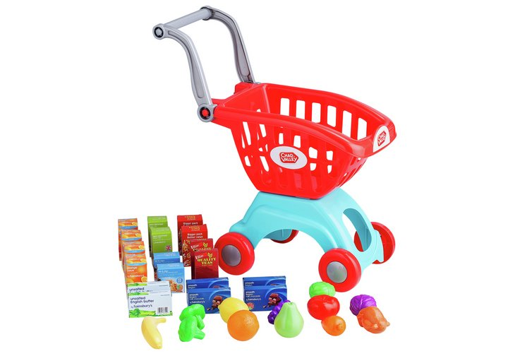 Chad Valley Shopping Trolley with 30 Accessories