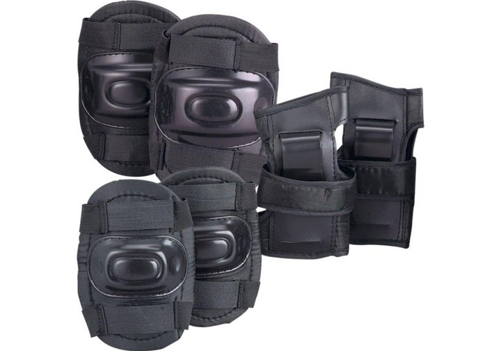Chad Valley Skate Knee, Elbow and Wrist Pads - Black