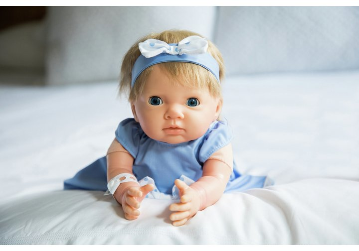 Chad Valley Tiny Treasures Big Bow Outfit
