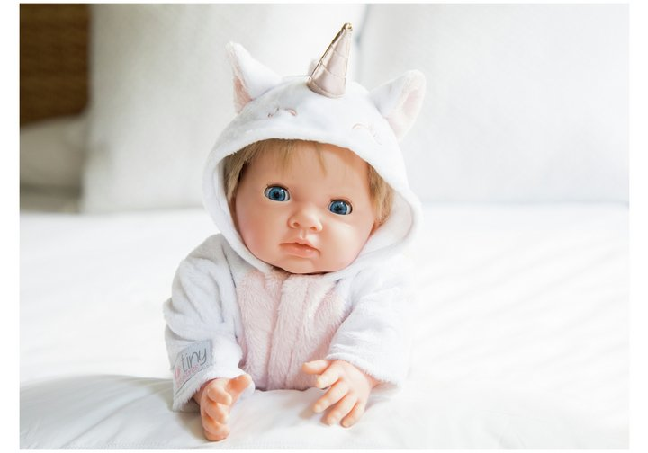 Chad Valley Tiny Treasures Unicorn All-in-One