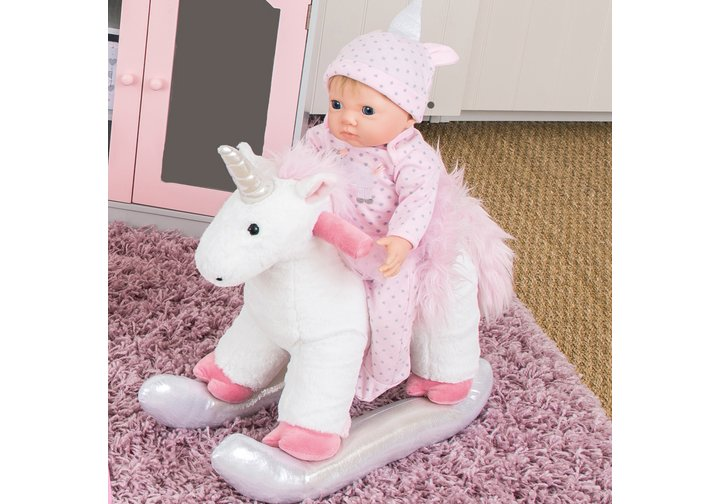 Chad Valley Tiny Treasures Unicorn Sit On