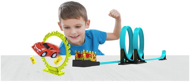 Chad Valley Toxic Waster Racing Track Set