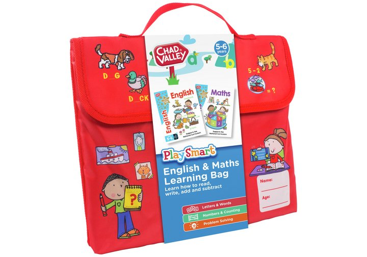 Chad Valley PlaySmart English & Maths Learning Bag