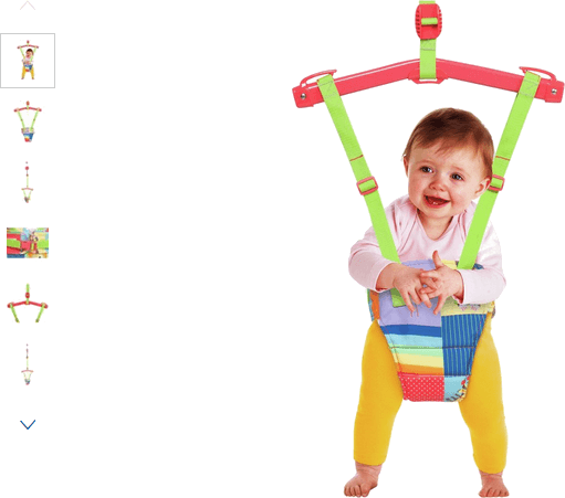 Baby by Chad Valley Rainbow Door Bouncer