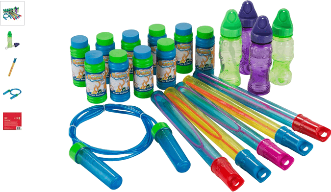 Chad Valley 20 Piece Bubbles Party Set