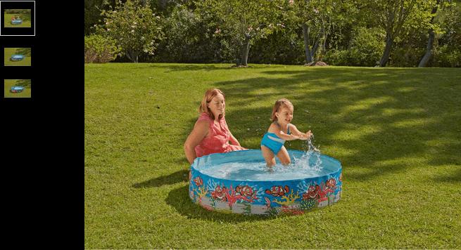 Chad Valley 4ft Ocean Fill 'N' Fun Pool