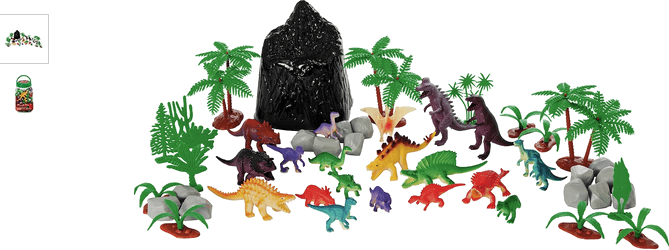Chad Valley 50 Piece Dinosaur Bucket