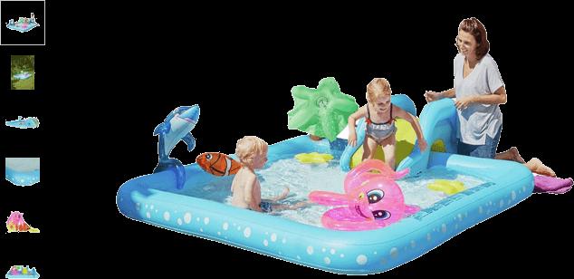 chad valley aquarium activity pool