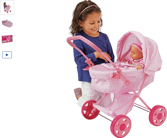 Chad Valley Babies to Love My First Dolls Pram