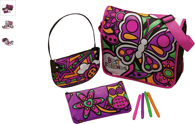 Chad Valley Colour and Design Your Own Bags