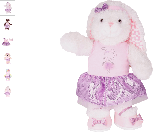 chad valley design-a-bear ballerina outfit