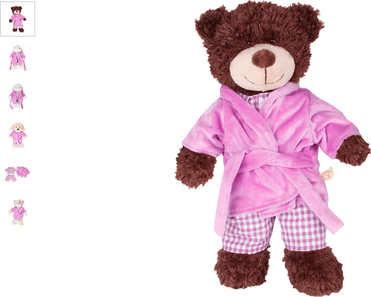 chad valley design-a-bear bedtime outfit