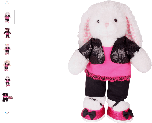 chad valley design-a-bear casual girly outfit