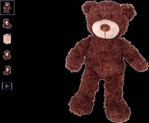 chad valley design-a-bear chocolate bear