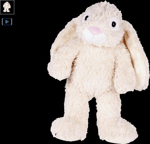chad valley design-a-bear cream bunny