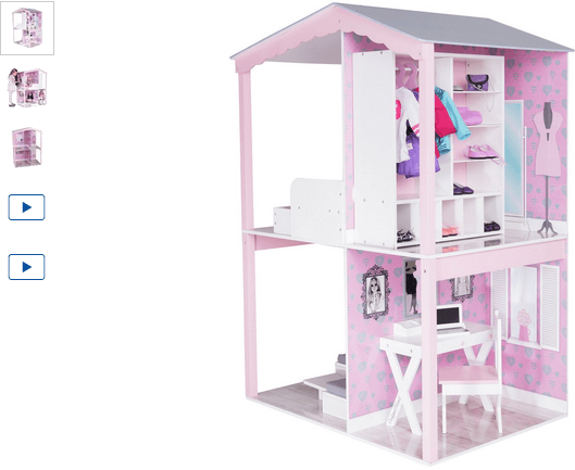 chad valley designafriend dolls house