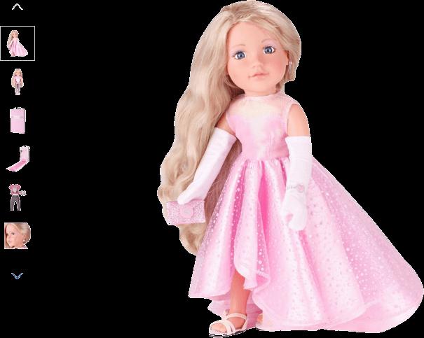 chad valley designafriend model doll - tiffany