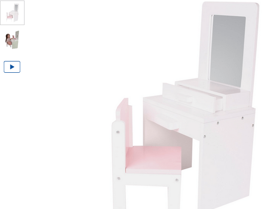 chad valley designafriend wooden dressing table