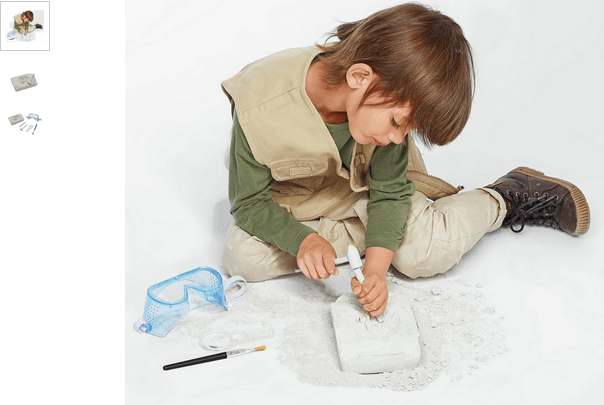 chad valley dino dig set