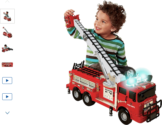 Chad Valley Fire Engine with Lights and Sounds