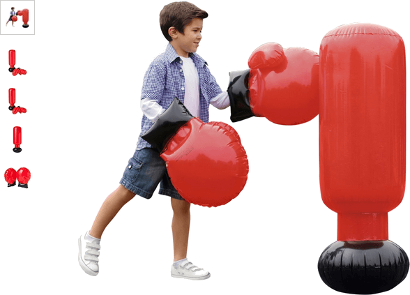 Chad Valley Inflatable Boxing Set