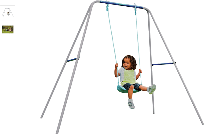 Chad Valley Kids' Active 2-in-1 Swing