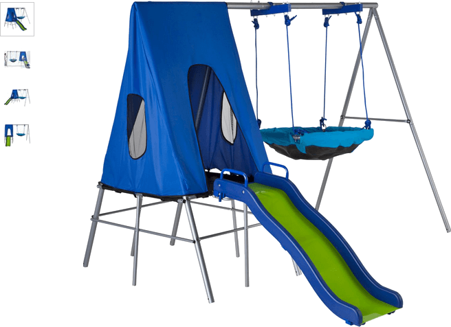 chad valley large multiplay - climb, slide, hide and swing