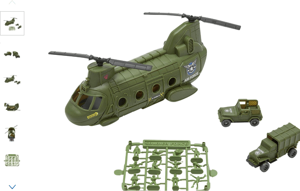 Chad Valley Mini Helicopter