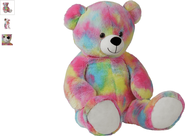 chad valley multi-coloured bear