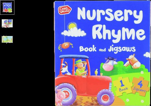 chad valley nursery rhyme book & jigsaw