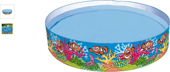 Chad Valley Ocean Snapset Pool - 6ft - Multicoloured