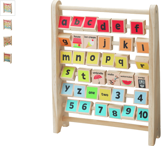 Chad Valley PlaySmart Alphabet Abacus