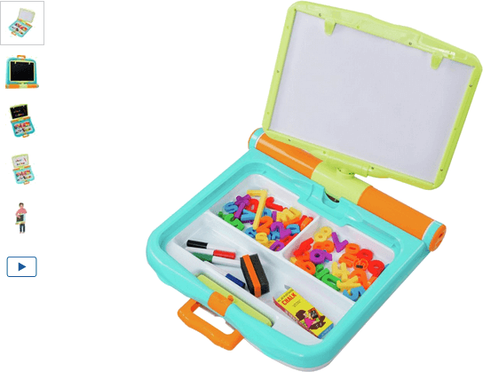 Chad Valley PlaySmart Magnetic Learning Play Desk