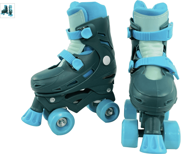 Chad Valley Quad Skates - Blue