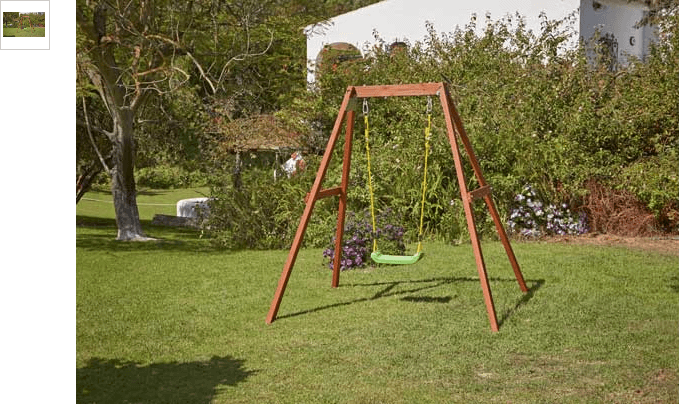 Chad Valley Single Wooden Swing